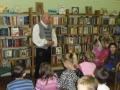 A Kis Olvasókör meghívott vendége volt Kassovitz László mesemondó és író, aki a Pamacs- történetek bemutatásával készült.
