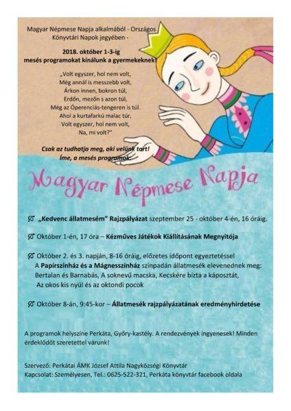 magyar népmese napja plakát