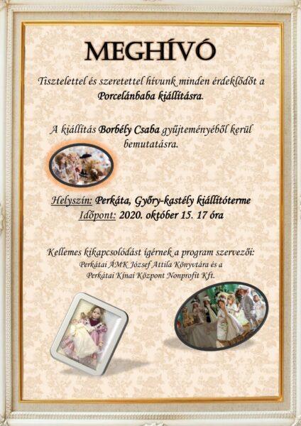 Porcelánbaba kiállítás meghívó(1)
