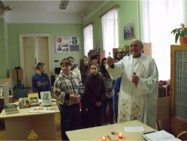 Karácsonyi ünnepkör a könyvtárban 2012.11.27